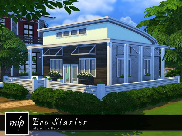 Sims 4 Eco Starter by mlpermalino at TSR