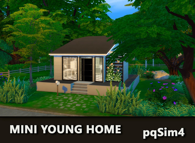 Mini Young Home by Mary Jiménez at pqSims4 image 2641 Sims 4 Updates