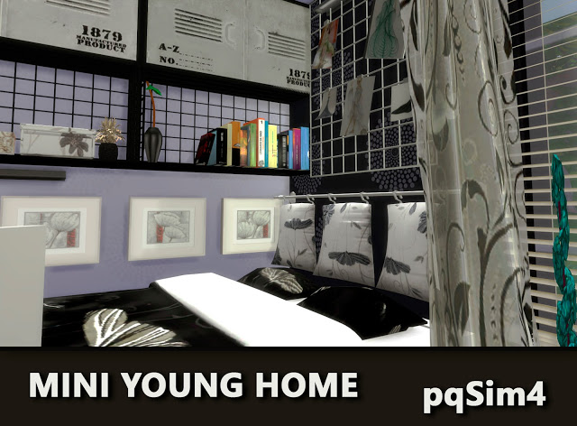 Mini Young Home by Mary Jiménez at pqSims4 image 2691 Sims 4 Updates