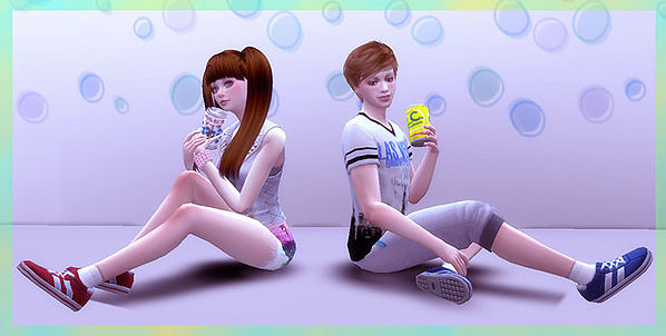 Can poses at A luckyday image 277 Sims 4 Updates