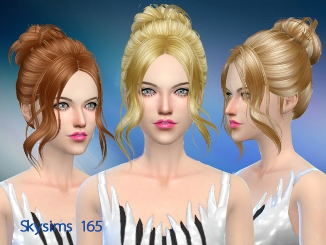 Sims 4 Skysims hair 165c (Pay) at Butterfly Sims