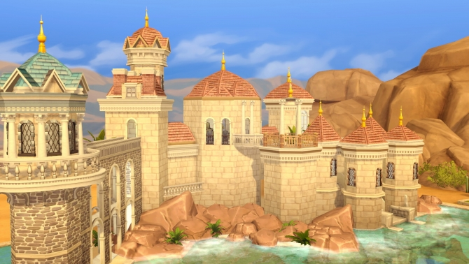 Prince Eric S Castle At Akai Sims 187 Sims 4 Updates