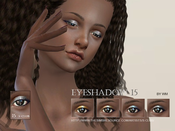 Eyeshadow 15 by S Club WM at TSR image 2820 Sims 4 Updates