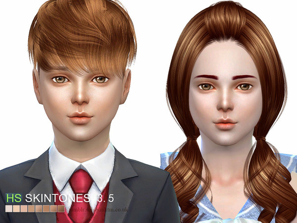 HS3.5 skin ALL AGE by S Club WMLL at TSR image 2827 Sims 4 Updates
