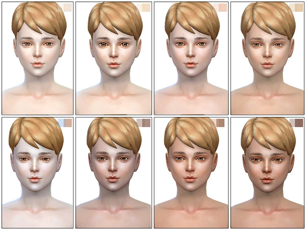 HS3.5 skin ALL AGE by S Club WMLL at TSR image 2920 Sims 4 Updates