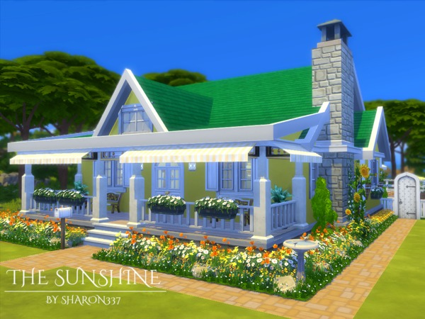 The Sunshine house by sharon337 at TSR image 295 Sims 4 Updates