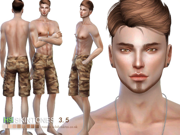 HS3.5 skin ALL AGE by S Club WMLL at TSR image 3019 Sims 4 Updates