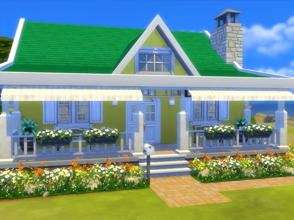 The Sunshine house by sharon337 at TSR image 304 Sims 4 Updates