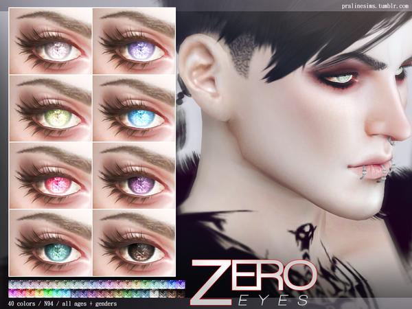 Sims 4 Zero Eyes N94 by Pralinesims at TSR