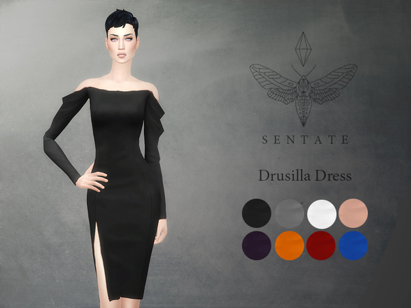 Drusilla Dress by Sentate at TSR image 3108 Sims 4 Updates