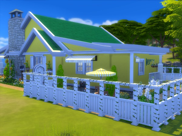 Sims 4 The Sunshine house by sharon337 at TSR