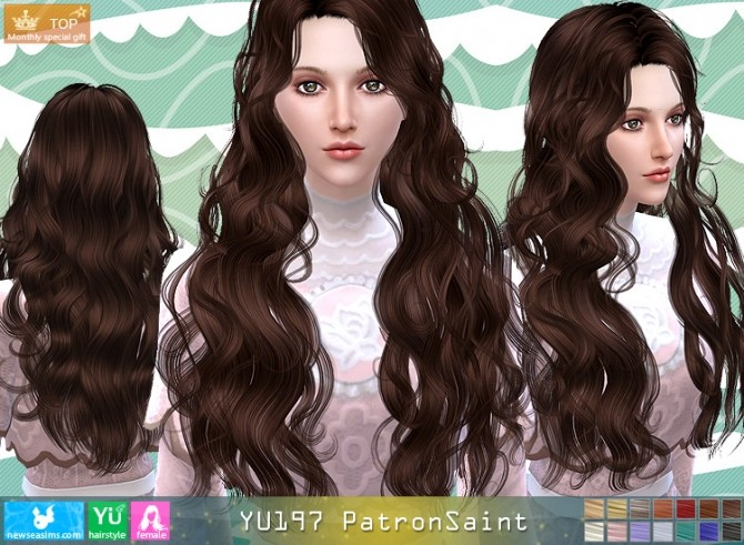 YU197 PatronSaint hair (Pay) at Newsea Sims 4 image 3510 670x491 Sims 4 Updates