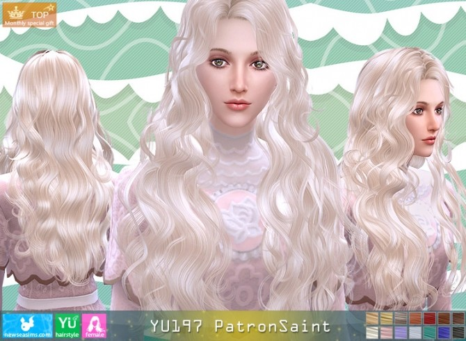 YU197 PatronSaint hair (Pay) at Newsea Sims 4 image 3610 670x491 Sims 4 Updates