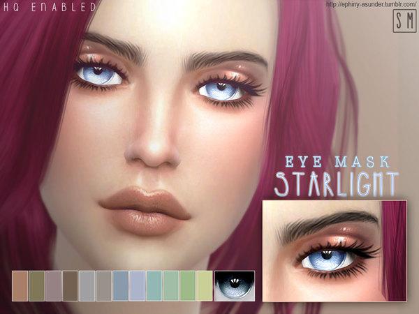 Sims 4 Starlight Eye Mask by Screaming Mustard at TSR