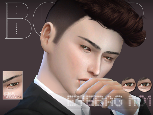 Eyebag M01 by Bobur3 at TSR image 3812 Sims 4 Updates