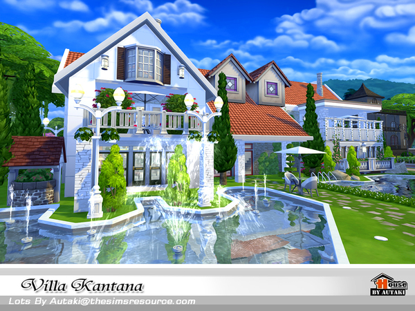 Villa Kantana by autaki at TSR image 3819 Sims 4 Updates
