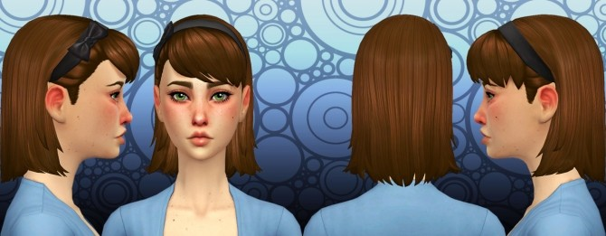Helen Hair at Simduction image 3831 670x261 Sims 4 Updates