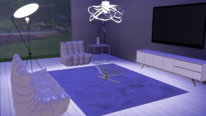 Sims 4 Solveig Floor Lamp at Meinkatz Creations