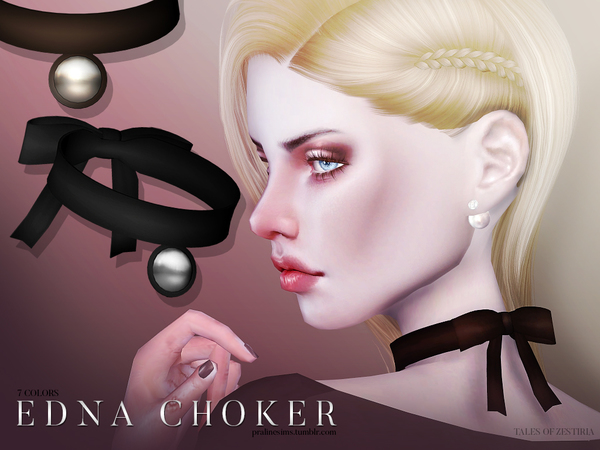 Edna Choker by Pralinesims at TSR image 3918 Sims 4 Updates
