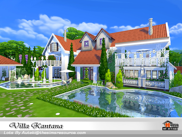 Villa Kantana by autaki at TSR image 3919 Sims 4 Updates