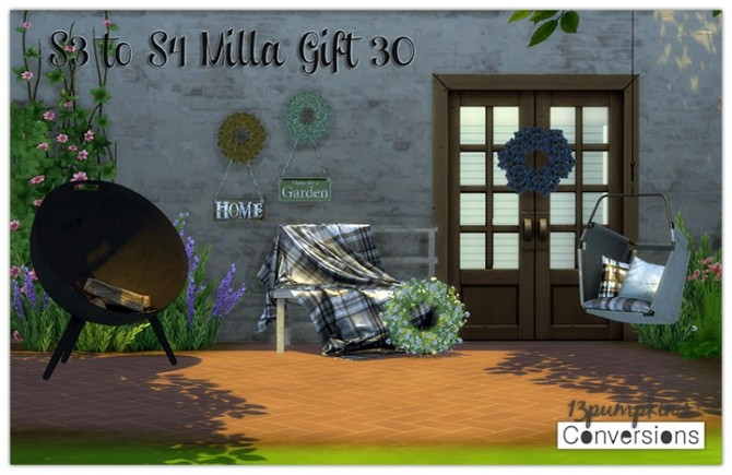 Sims 4 S3 to S4 Milla's Gift 30 Conversions at 13pumpkin31