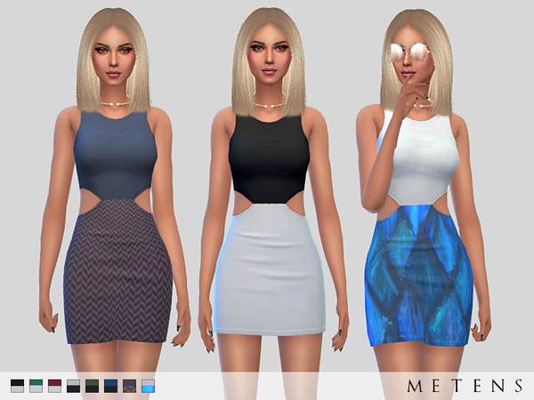 Sims 4 Endless Dress by Metens at TSR