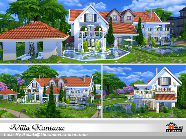 Villa Kantana by autaki at TSR image 4016 Sims 4 Updates