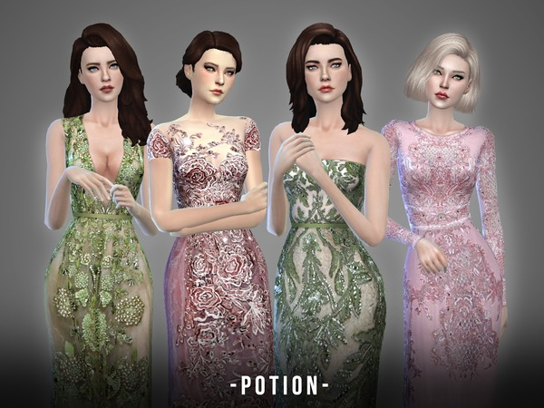 Sims 4 Potion collection by April at TSR
