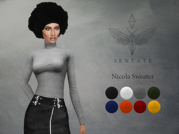 Sims 4 Nicola Sweater by Sentate at TSR