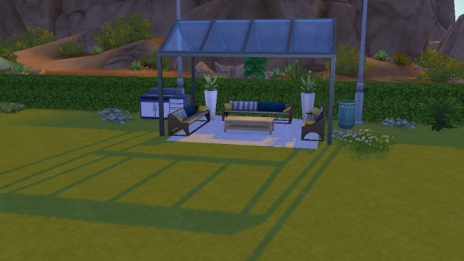 Sims 4 Desert Bloom Park rebuild by Bunny m at Mod The Sims