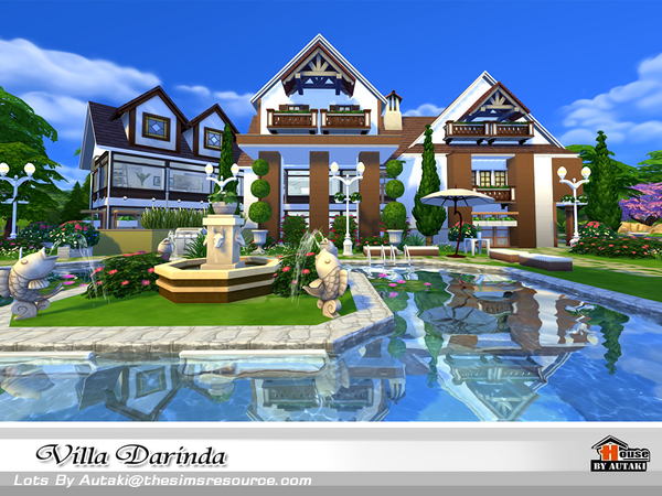 Villa Darinda by autaki at TSR image 435 Sims 4 Updates