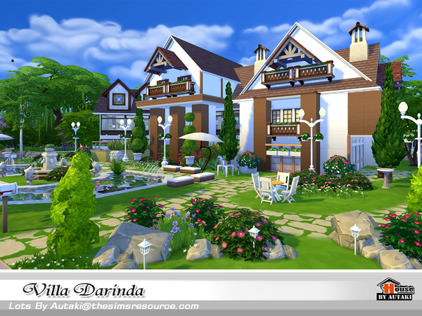 Villa Darinda by autaki at TSR image 445 Sims 4 Updates