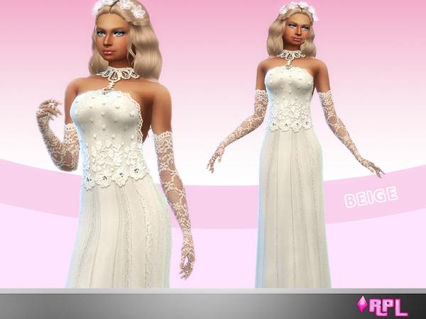 Sims 4 Bridal 03 Wedding set by RobertaPLobo at TSR