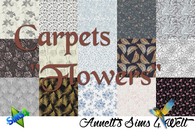 Flower carpets at Annett's Sims 4 Welt image 449 Sims 4 Updates
