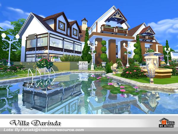 Villa Darinda by autaki at TSR image 454 Sims 4 Updates