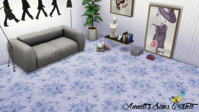 Flower carpets at Annett's Sims 4 Welt image 458 Sims 4 Updates