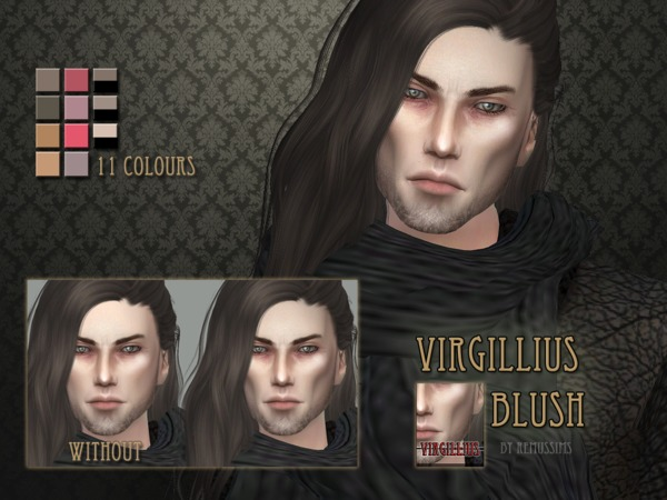 Virgillius Blush by RemusSirion at TSR image 4611 Sims 4 Updates