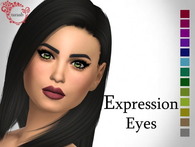 Expression Eyes by taraab at Mod The Sims image 464 670x503 Sims 4 Updates