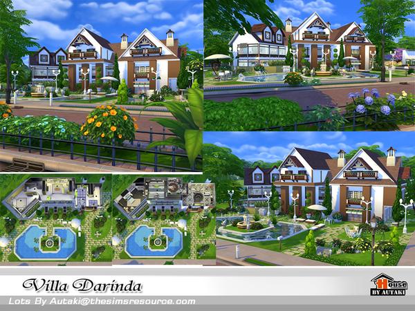 Villa Darinda by autaki at TSR image 465 Sims 4 Updates
