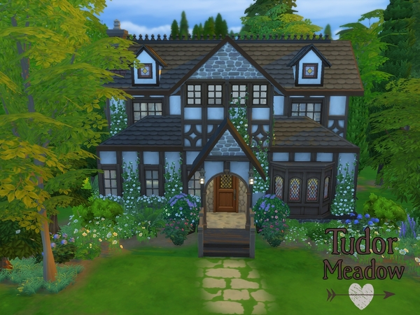 Sims 4 Tudor Meadow cottage by madabb13 at TSR