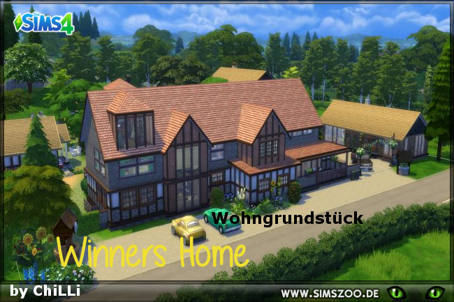 Winners Home by ChiLLi at Blacky's Sims Zoo image 478 Sims 4 Updates