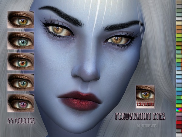 Sims 4 Peruvianum Eyes by RemusSirion at TSR