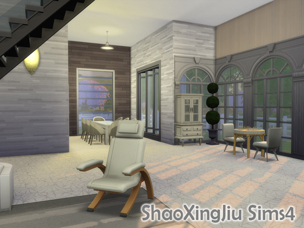 Sims 4 White Dream house by jeisse197 at TSR
