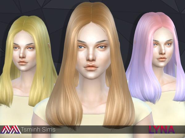 Lyna Hair 11 by Tsminh Sims at TSR image 502 Sims 4 Updates