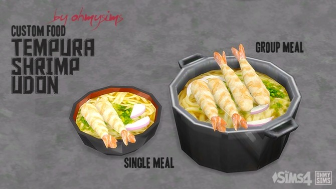 Tempura Shrimp By Ohmysims At Mod The Sims 187 Sims 4 Updates