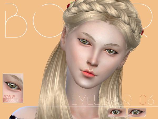 Sims 4 Eyeliner 06 by Bobur3 at TSR
