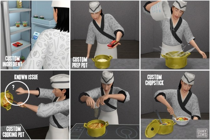 Instant Ramen by ohmysims at Mod The Sims image 5118 670x446 Sims 4 Updates