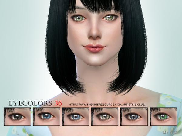 Eyecolor 36 by S Club WM at TSR image 516 Sims 4 Updates