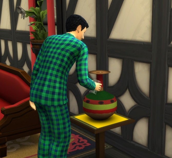 Sims 4 Functional Water Pitcher by icemunmun at Mod The Sims