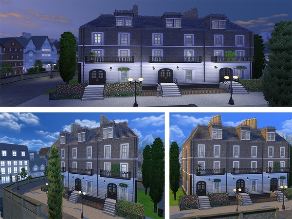 Sims 4 12 Grimmauld Place house by Ineliz at TSR